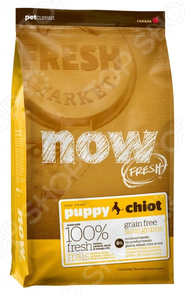 ���� ����� ��� ������ ����������� NOW Fresh Puppy Recipe Grain Free