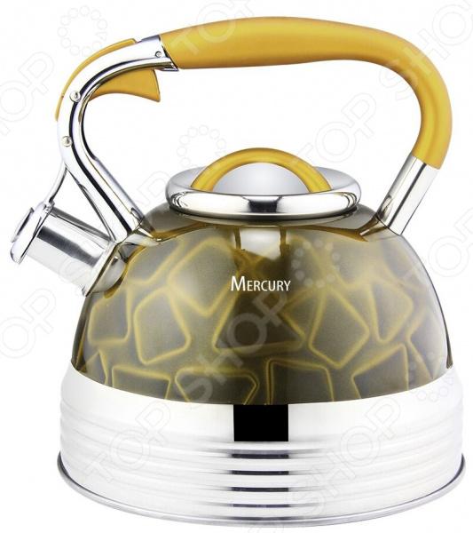 Чайник со свистком Mercury MC-6583 цена