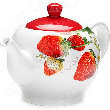 Чайник заварочный Loraine «Клубника»