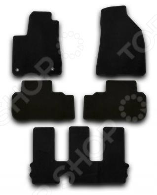 Комплект ковриков в салон автомобиля Klever Toyota Highlander 2014 Econom комплект ковриков в салон автомобиля klever toyota highlander 2014 standard
