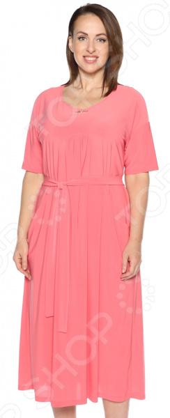 Платье Лауме-Лайн «Ласковый вечер». Цвет: коралловый