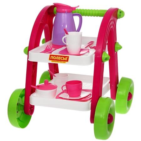 Купить Игровой набор для ребенка POLESIE Stars Chef «Сервировочный столик»
