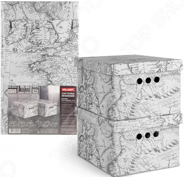 Набор складных коробок для хранения Valiant Expedition