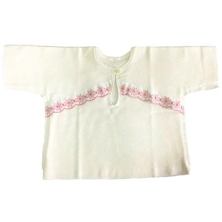 Купить Рубашка для малыша Baby-Land 1018. Цвет: белый, розовый