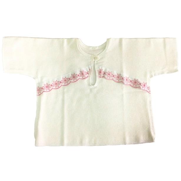 фото Рубашка для малыша Baby-Land 1018. Цвет: белый, розовый