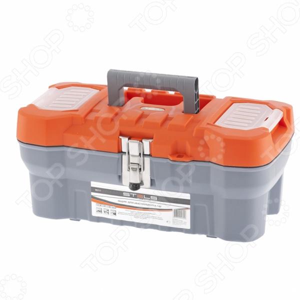 Ящик для инструментов Stels 90711 ящик для инструментов stels 22 28х23 5х56см 90713