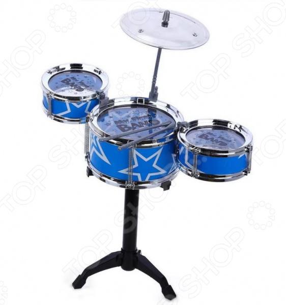 Игрушка музыкальная для ребенка 1 Toy «Музыкальный БУМ. Ударная установка»