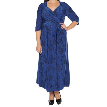 Купить Платье VEAS «Модный показ». Цвет: синий