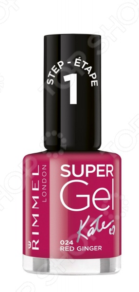 Гель-лак для ногтей Rimmel Kate Nail Polish 7ml super bling soak off uv led nail art nail polish
