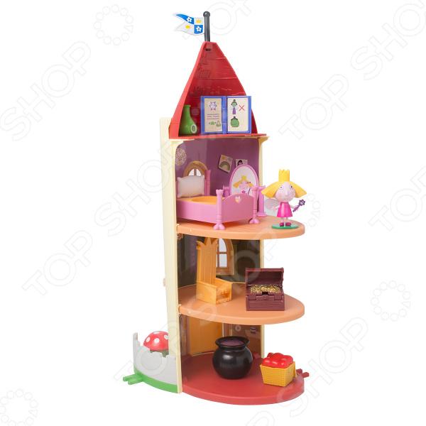 Игровой набор с фигуркой Ben & Holly's «Замок Холли» игровой набор холли и стробери ben