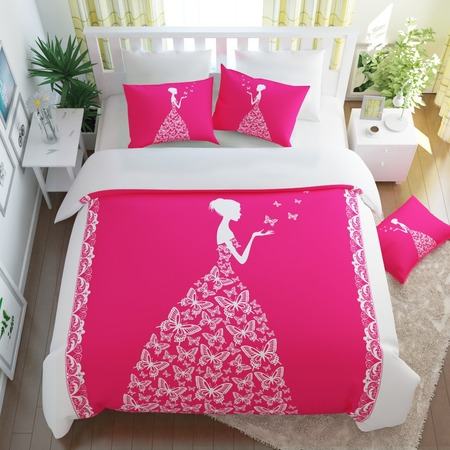 Купить Комплект постельного белья Сирень «Принцесса»