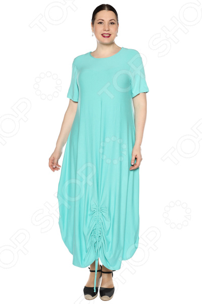 Платье Kidonly «Романтичный день». Цвет: бирюзовый