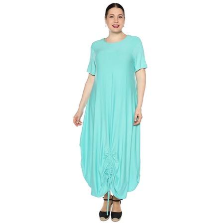 Купить Платье Kidonly «Романтичный день». Цвет: бирюзовый