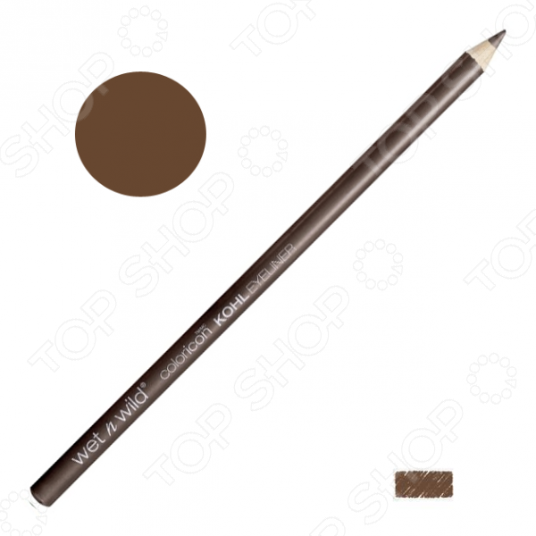 Карандаш для контура глаз Wet n Wild Color Icon Kohl Liner Pencil E603A Sima Brown Now. Тон: коричневый