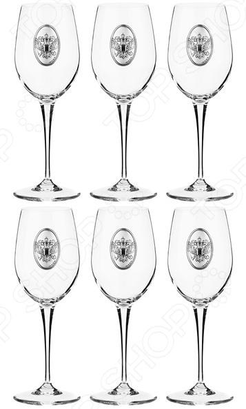 Набор бокалов для вина Acampora «Россия» 307-164 набор бокалов для бренди коралл 40600 q8105 400 анжела