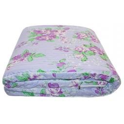 Матрас-перина «Дачный». Рисунок: фиолетовые цветы