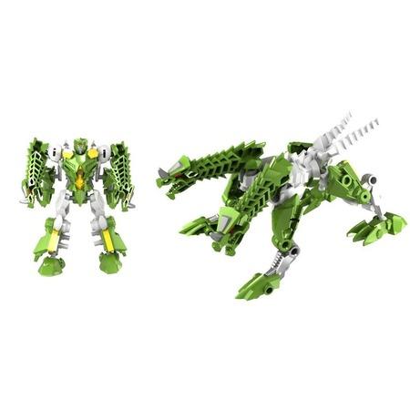 Купить Игрушка-трансформер Город игр «Робот Дракон». Цвет: зеленый