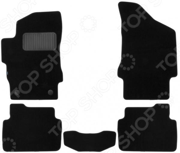 Комплект ковриков в салон автомобиля Klever Premium для Brilliance V5 кроссовер, 2011
