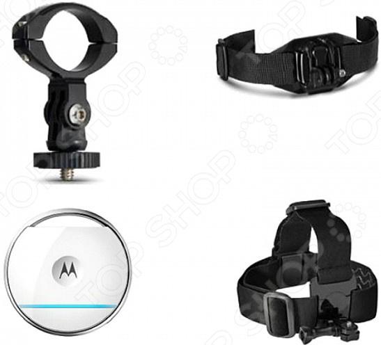 Набор аксессуаров для экшн-камеры Motorola Vervecam+ matop ручный стабилизатор для экшн камеры ручный стабилизатор для телефон и камеры с 360°вращения