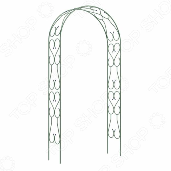 Арка садовая разборная «Узорная широкая» 69125 арка садовая декоративная grinda классика 422249