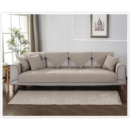 Купить Комплект накидок на широкий трехместный диван Медежда «Корфу»