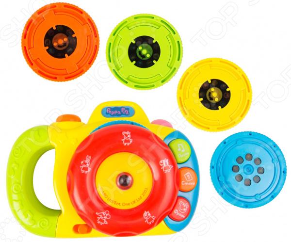 Музыкальная игрушка Peppa Pig с проектором «Фотоаппарат». В ассортименте
