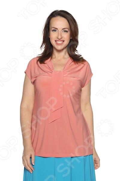 Блуза VEAS «Строгий лоск». Цвет: розовый блуза com mix цвет розовый