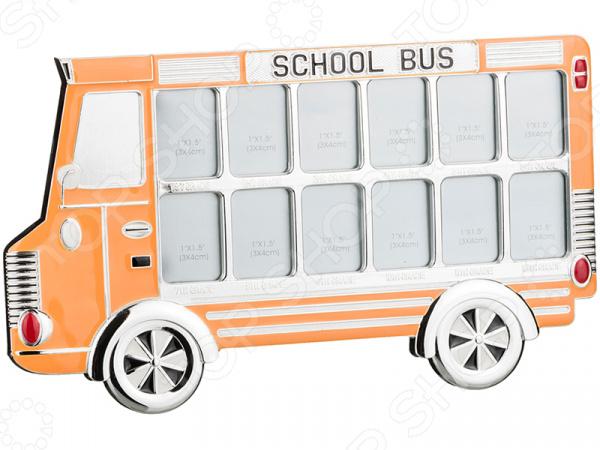 Фоторамка «Автобус» 363-509 фоторамки русские подарки фоторамка