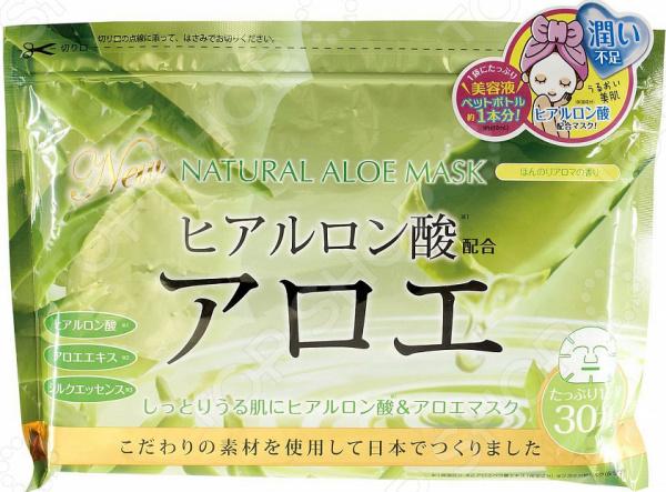 Zakazat.ru: Набор тканевых масок для лица Japan Gals с экстрактом алоэ