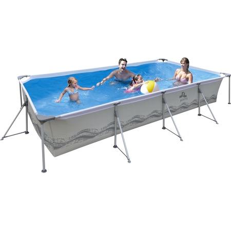 Купить Бассейн каркасный Jilong Rectangular Steel Frame Pools JL017442NG