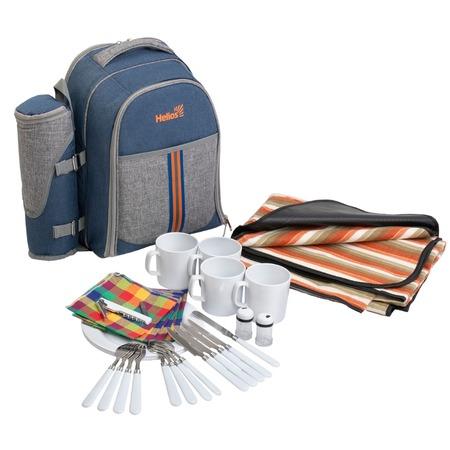 Купить Набор посуды и принадлежностей для пикника Helios HS-904