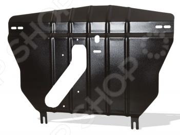 Комплект: защита картера и крепеж Novline-Autofamily Chevrolet Malibu 2013: 2,4 бензин АКПП - фото 2