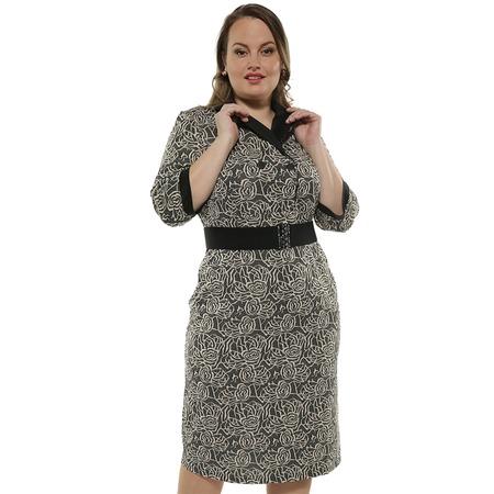 Купить Платье с жаккардовым рисунком De-Linda «Бьянка»