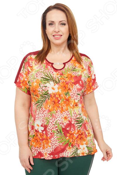 Туника Лауме-стиль «Эмили». Цвет: оранжевый туника лауме стиль галла цвет васильковый