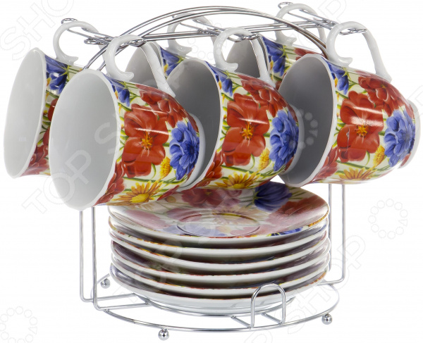 Набор чайный OlAff Metal Stand DL-F6MS-198