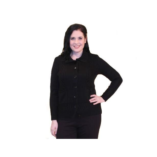 фото Жакет Milana Style Хлоя. Цвет: черный. Размер одежды: 50