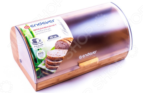 Хлебница Endever Bamboo-01