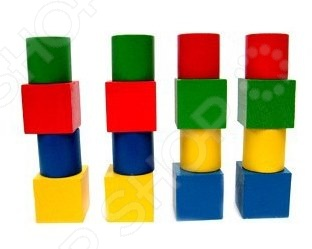 Игра развивающая RNToys «Набор геометрических фигур» аэлита развивающая игра цветные столбики