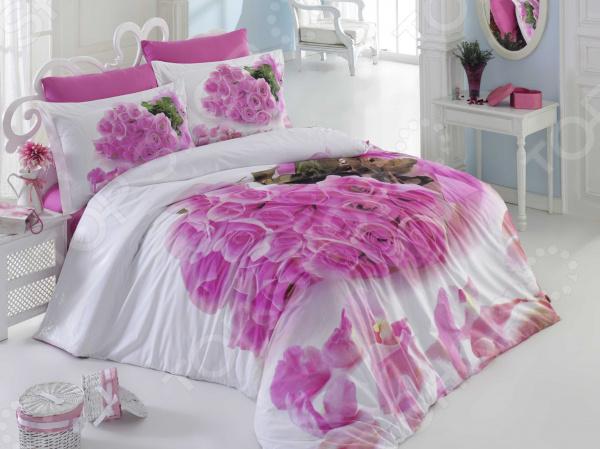 Zakazat.ru: Комплект постельного белья Hobby Home Collection Love Story. Евро