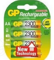 элементы питания gp аккумулятор gp 250aahc 2decrc4 Набор батареек аккумуляторных GP 230AAHC-2DECRC4
