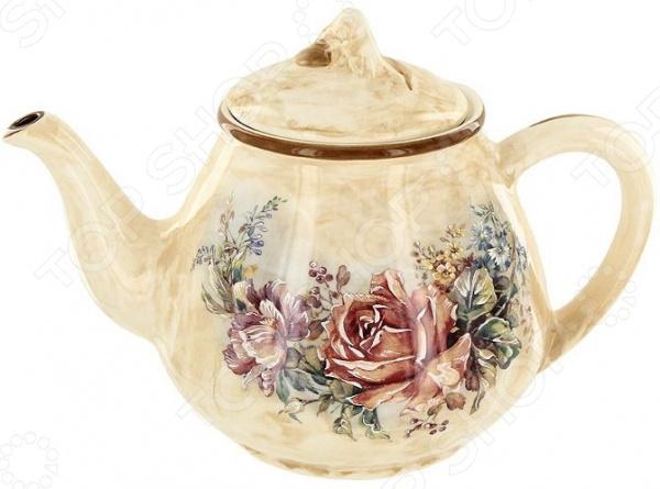 Чайник заварочный LCS «Элианто» LCS959T-EL-AL банка для сыпучих продуктов сахар lcs элианто lcs670mls el al