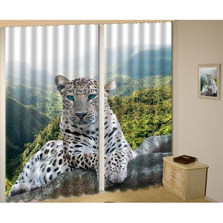 Купить Комплект тюля МарТекс «Леопард»