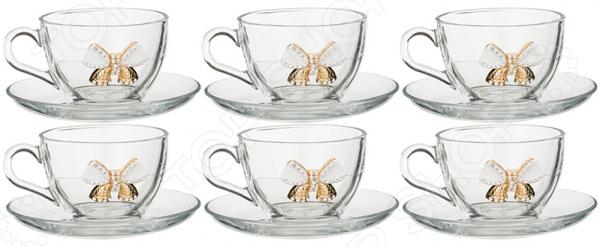 Чайная пара 802-510740 наборы для чаепития pavone чайная пара грациозо