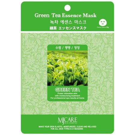 Купить Маска увлажняющая для лица MJ Care Green Tea