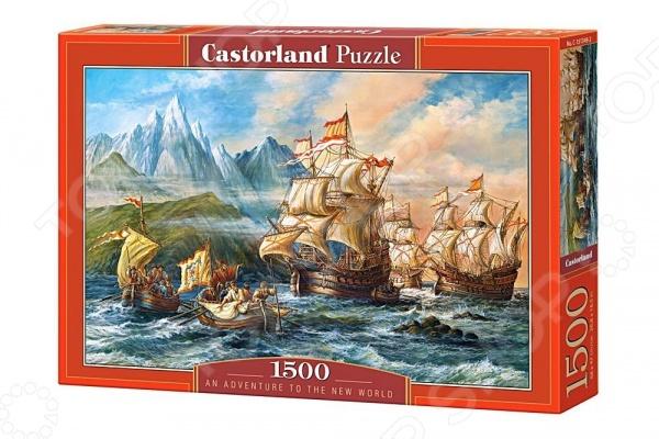 Пазл 1500 элементов Castorland «Приключения в Новом Свете»
