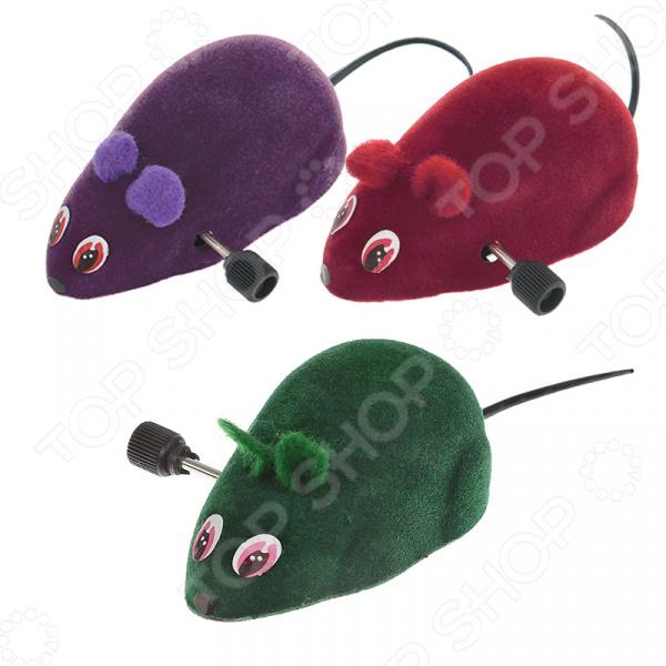 Игрушка для кошек Beeztees «Мышь заводная» игрушка головоломка для кошек beeztees найди лакомство диаметр 22 см