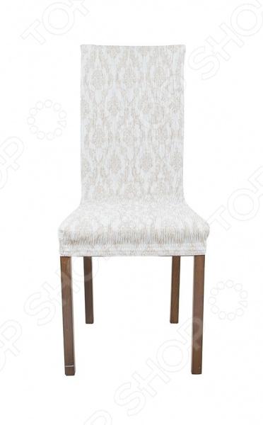 Фото - Комплект натяжных чехлов на стул Еврочехол «Орна» натяжной чехол на стул еврочехол еврочехол микрофибра ваниль