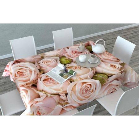 Купить Фотоскатерть Сирень «Молодые розы»