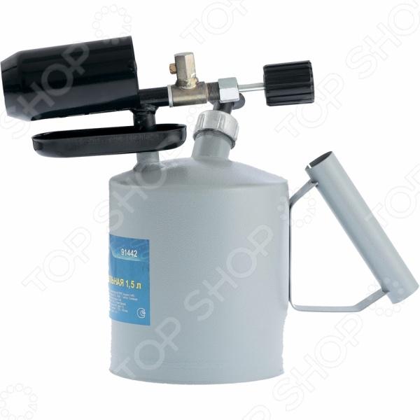 Лампа паяльная СИБРТЕХ инструмент, используемый для получения пламени высокой температуры. Прибор работает на бензине за исключением этилированного и применяется для осуществления различных ремонтных работ, допускающих открытый нагрев пайка, термообработка деталей и др. .