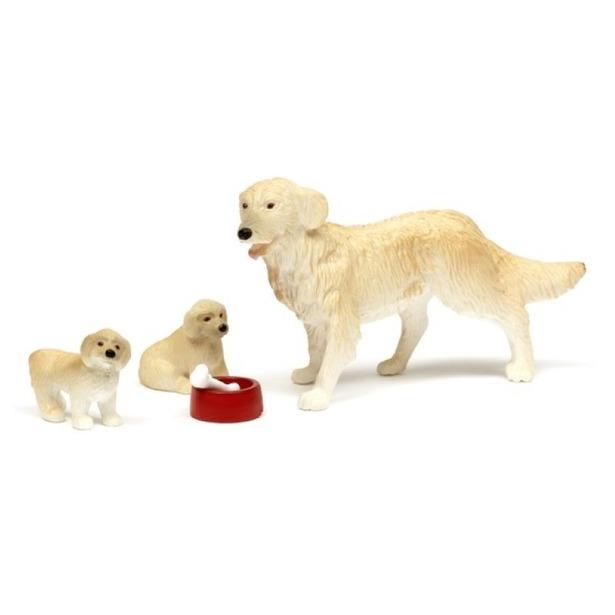 Набор фигурок Lundby «Пес со щенками»